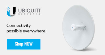 Ubiquiti - Connectivity  possible everywhere